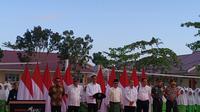 Presiden Jokowi Resmikan Rehabilitasi MTsN 3 Pekanbaru (dok: Athika)