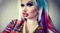 Andrea Ivanova, perempuan yang rela operasi plastik sebanyak 15 kali agar mirip Barbie (Dok.Instagram/@andrea.ivanova345/https://www.instagram.com/p/ByspNcUABZh/Komarudin)