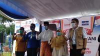 3 Partai Usung Isdiyanto-Suryani sebagai Cagub dan Cawagub, dalam Pilkada Kepri 2020. (Foto: Liputan6.com/Ajang Nurdin)