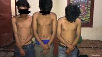 Tiga ABG di Makassar nyambi jadi garong (Liputan6.com/ Eka Hakim)