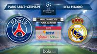 Liga Champions_Paris Saint-Germain Vs Real Madrid (Bola.com/Adreanus Titus)