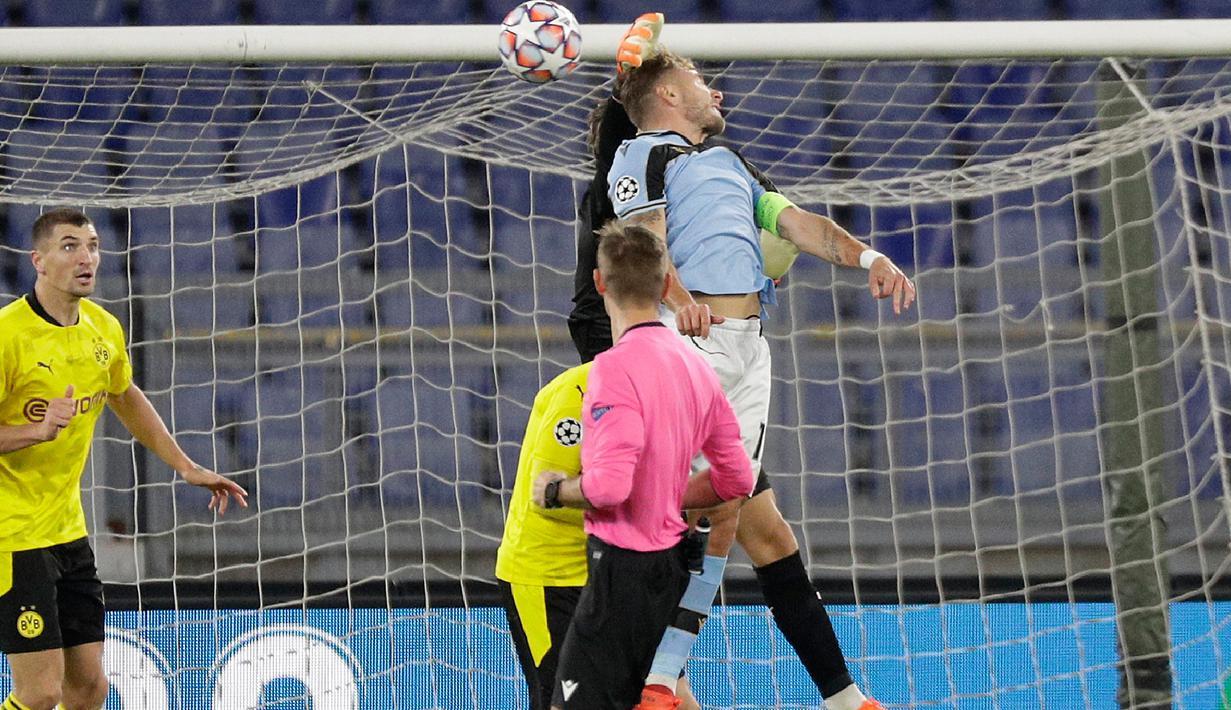 FOTO: Lazio Bekuk Dortmund 3-1 - Bola Liputan6.com