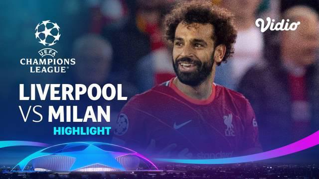 Berita video highlights laga seru matchday 1 Grup B Liga Champions 2021/2022 yang digelar di Anfield antara Liverpool melawan AC Milan yang berakhir dengan skor 3-2, Kamis (16/9/2021) dinihari WIB.