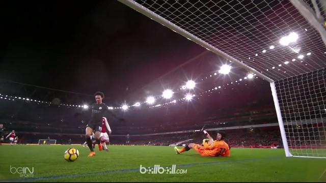 Berita video gol-gol Manchester City saat menang atas Arsenal di Premier League 2017-2018. This video presented by BallBall.
