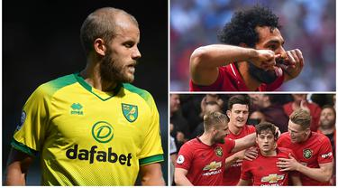 Meski Liga Inggris musim 2019/2020 baru memasuki pekan ketiga namun ada sejumlah pemain yang langsung tancap gas bersama klubnya masing-masing. Berikut ini tujuh pemain yang langsung bersinar di pekan awal Premier League. (Kolase Foto dari AFP)