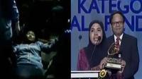 Metromini tabrak wanita di dalam terminal Blok-M. Nursyida Syam, pemenang kategori sosial pendidikan.