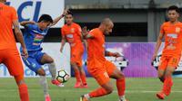 Gelandang Borneo FC, Julient Faubert. (Bola.com/Ronald Seger Prabowo)