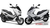 Yamaha NMax vs Honda PCX. (Otosia)