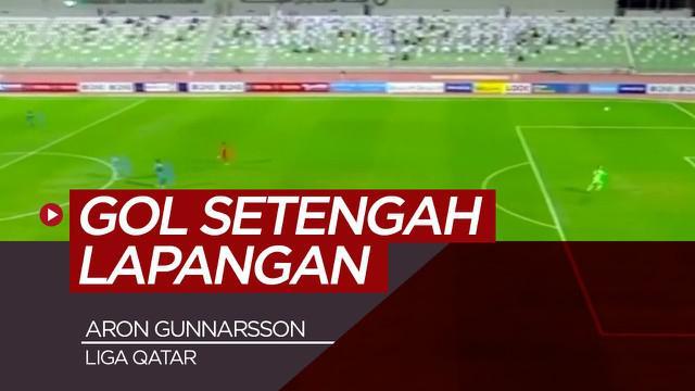 Berita video gol spektakuler yang diciptakan oleh, Aaron Gunnarsson, di Liga Qatar