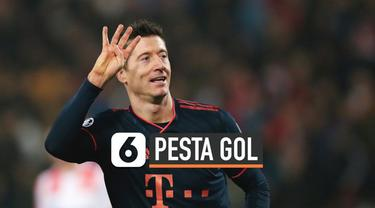 Pesta gol terjadi di pertandingan grup Liga Champions yang pertemukan Bayern Munchen dan Crvena Zvezda Rabu (27/11) dini hari. Bayern Munchen menang tanpa balas 6-0.