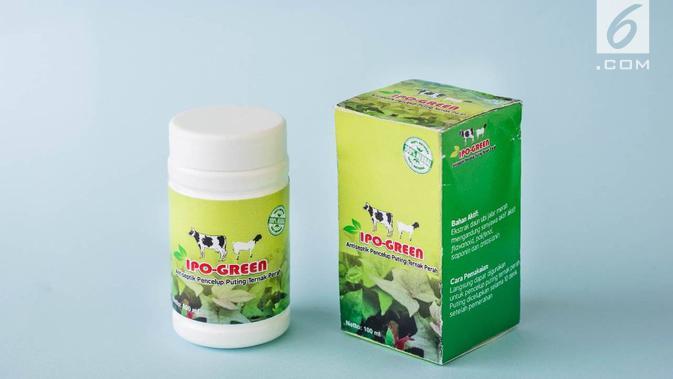 IPO-GREEN, sebuah nama antiseptic herbal buatan mahasiswa yang tak dibuat komersial. (foto: Liputan6.com/dok.tituk suselowati/edhie prayitno ige)