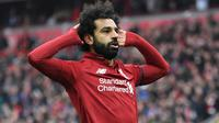 1. Mohamed Salah (Liverpool) - 22 Gol. (AFP/Paul Ellis)