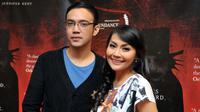 Sandy Tumiwa dan Tessa Kaunang. [Foto: Panji Diksana/Liputan6.com]