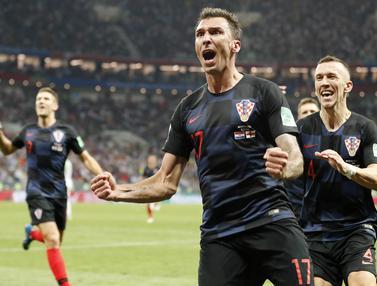 Pesta Bola Rusia, Piala Dunia 2018, Kroasia, Inggris
