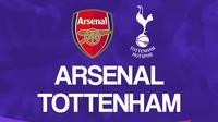 Premier League - Arsenal Vs Tottenham Hotspur (Bola.com/Adreanus Titus)