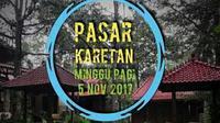Generasi milineal ini membuat terobosan promosi dan sosialisasi pariwisata di Kota Semarang dengan mengelar Pasar Karetan.
