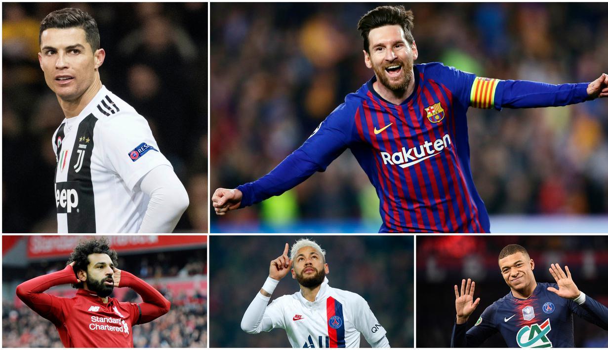 Megabintang Barcelona, Lionel Messi, menempati posisi teratas pada daftar pesepak bola dengan penghasilan tertinggi di dunia tahun 2020 versi Forbes. La Pulga mengalahkan striker Juventus, Cristiano Ronaldo, yang bertengger di urutan kedua.