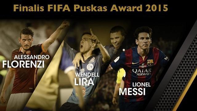 Video 6 gol terbaik yang dinominasikan meraih FIFA Puskas Award 2015  sebagai gol terbaik tahun ini. Para pencetak gol tersebut di antaranya yaitu Lionel Messi, Alessandro Florenzi dan Marcel Ndjeng.