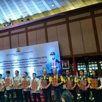 Kementerian PUPR melepas 979 Calon Pegawai Negeri Sipil (CPNS) formasi 2017 dan mengangkatnya menjadi PNS. (Foto:Liputan6.com/Maulandy R)