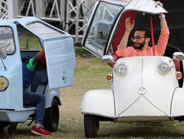 Uniknya Deretan Mobil Klasik di Kairo