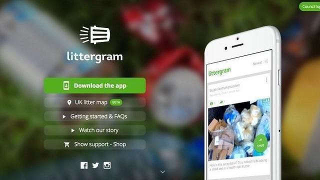 """Serupa tapi tak sama, itulah kesan pertama ketika Anda mendengar aplikasi baru dengan nama """"Littergram""""."""