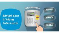 BCA juga menyediakan layanan pembelian pulsa isi ulang listrik prabayar melalui internet banking dan mobile banking BCA.