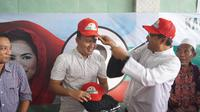 Anak Wali Kota Surabaya Tri Rismaharini Dukung Gus Ipul-Puti Guntur Soekarno (Liputan6.com/Dian Kurniawan)