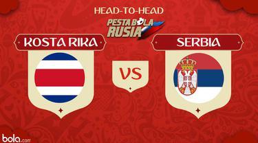 Berita video head-to-head Piala Dunia Rusia 2018: Kosta Rika vs Serbia