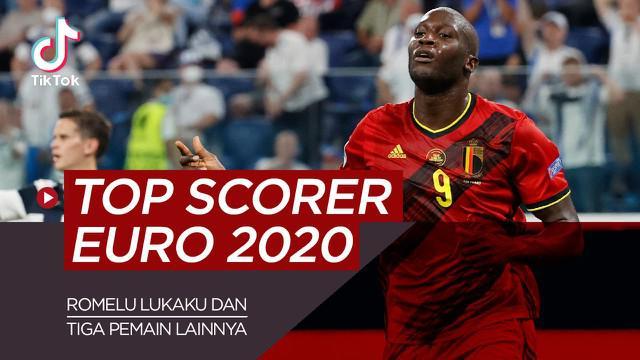 Berita video TikTok Bola.com tentang empat kandidat top scorer Euro 2020, Romelu Lukaku jadi calon terkuat.
