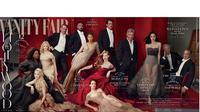 Simak bagaimana kegagalan photoshop terjadi pada foto Oprah Winfrey di sampul majalah Vanity Fair (instagram/justjared)