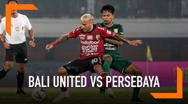 Bali United mengawali Shopee Liga 1 2019 dengan kemenangan 2-1 atas Persebaya Surabaya di Stadion Kapten I Wayan Dipta, Gianyar, Kamis (16/5/2019).