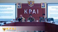 KPAI dalam konferensi persnya pada Rabu (30/10/2019), memaparkan sejumlah kasus kekerasan pada anak yang terjadi sepanjang 2019 (Dokumentasi KPAI)