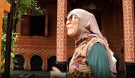 Rumah gadang mewah milik Dorce Gamalama yang dijual seharga 2 miliar, begini potretnya. (Sumber: YouTube/Good Friend)