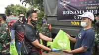 Bantu Tangani Covid-19, Lulusan Akmil Turun ke Masyarakat. foto: istimewa