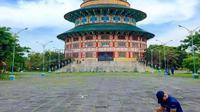 Pagoda Tian Ti (Sumber: Instagram/aristiawan_putra)