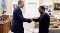 Barack Obama dan rapper Kendrick Lamar (Foto: consequenceofsound.net)
