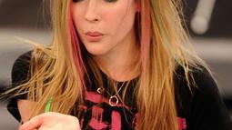 Avril Lavigne. (Bintang/EPA)