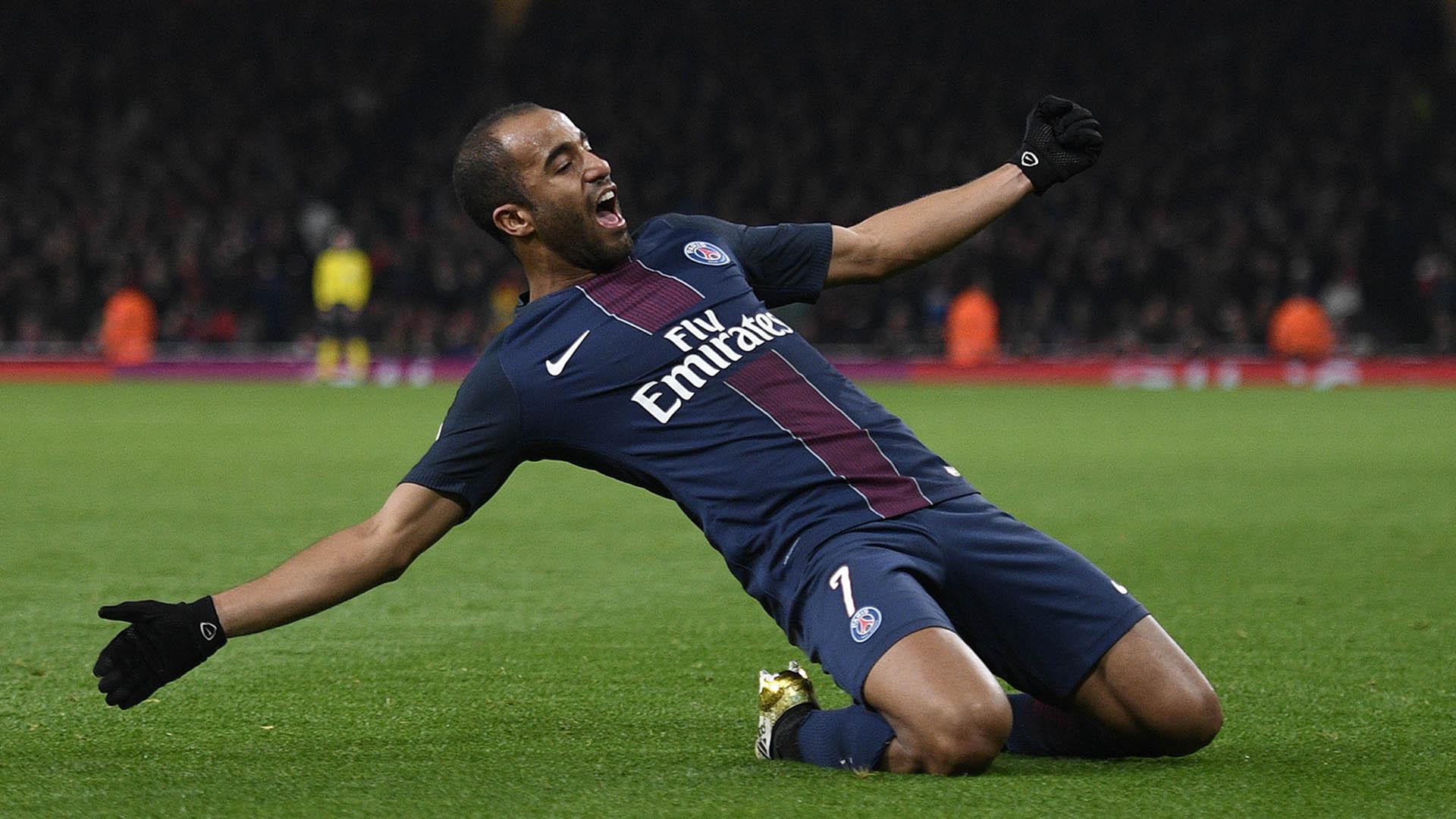 Gelandang Paris Saint-Germain, Lucas Moura (23/11/2016). (AFP/Justin Tallis)