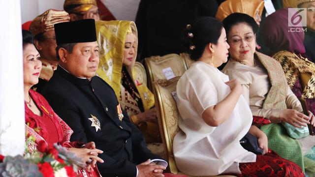 Kali Pertama Setelah Lengser, SBY Hadiri Upacara HUT RI di Istana