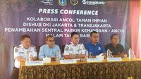 Kepala Dinas Perhub DKI Syafrin Liputo dalam Press Conference di Ancol, Jakarta Utara, Jumat (27/12/2019).