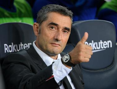 Pelatih Barcelona Ernesto Valverde Dipecat