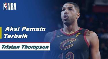 Berita Video Tristan Thompson Bawa Cleveland Cavaliers Menang atas Detroit Pistons 115-112