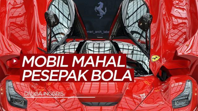 Berita video sportbites yang membahas tentang beberapa mobil mahal milik pemain Liga Inggris, Paul Pogba diurutan kedua