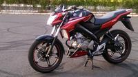 Sepeda motor ini mencatatkan market share sebesar 61 persen di segmen motor sport standard.