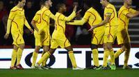 Liverpool kalahkan Bournemouth dengan skor 3-1.