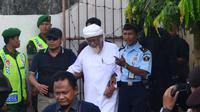 Abu Bakar Baasyir mengajukan PK atas vonis 15 tahun tindak pidana terorisme di PN Cilacap, Jawa Tengah, 2016. (Foto: Liputan6.com/Muhamad Ridlo)