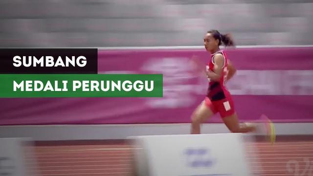 Berita video Elvin Elhudia Sesa raih medali perunggu dari cabor para atletik nomor lari putri 200M T20.