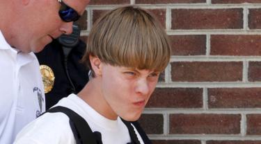 Ini Pelaku Penembakan di Gereja AS yang Tewaskan 9 Orang