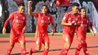 Persis Solo melanjutkan tren positif di persaingan Grup Barat Liga 2 2018. (Bola.com/Ronald Seger)