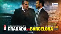 Granada vs Barcelona (Liputan6.com/Abdillah)